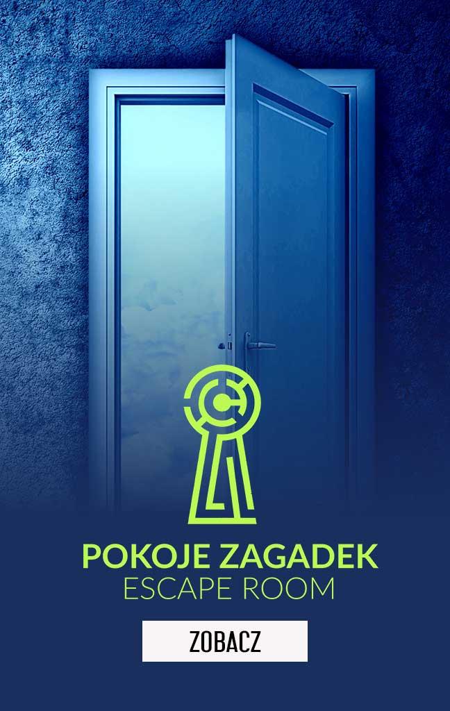 Escape Room, Pokoje zagadek w Logic Games Białystok