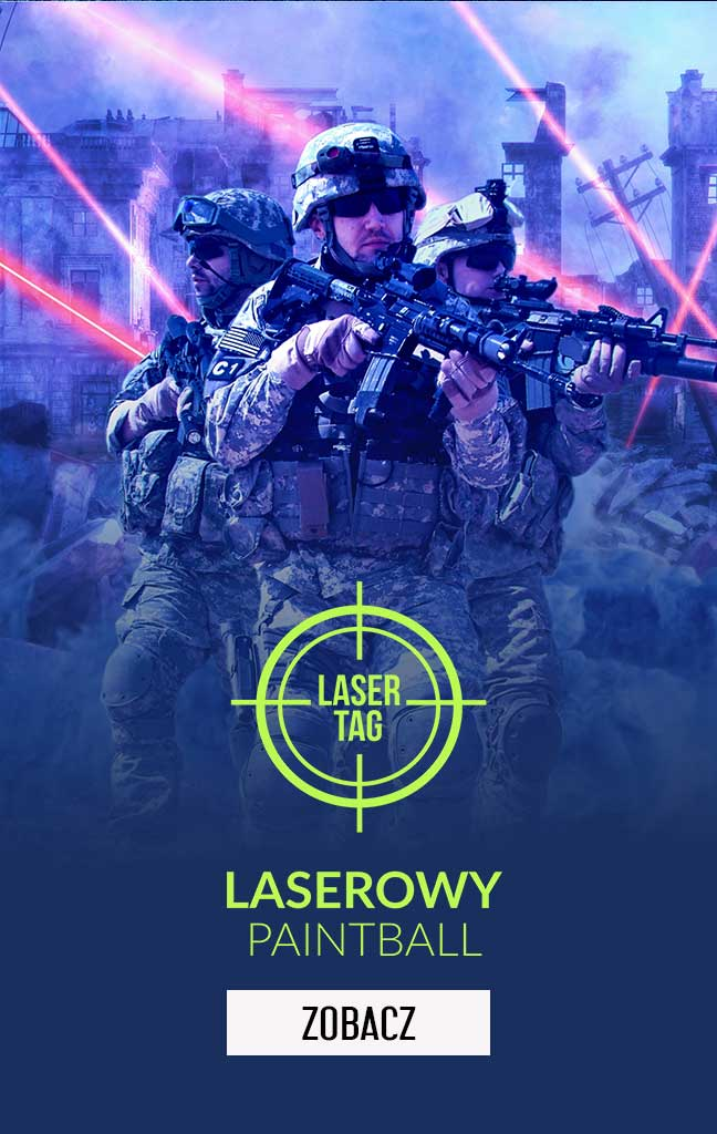 Laserowy Paintball, Laser Tag w Logic Games Białystok