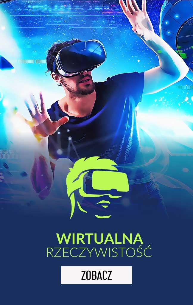 Wirtualna rzeczywistość (VR) w Logic Games Białystok
